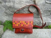 Kožená kabelka Kalina