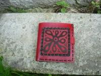 Peněženka kytka